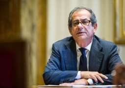 Italian Economy Minister Says Optimistic About Agreeing With EU On Rome's Public Debt