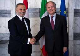 Gargash, Italian FM discuss Middle East challenges