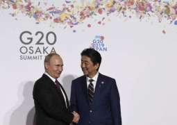 Putin, Abe Hold Meeting in Osaka Amid Stalled Peace Treaty Talks