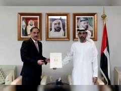 MoFAIC receives credentials of Iraq Ambassador