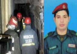 Salute to heroes! Rescue official dies on line of duty