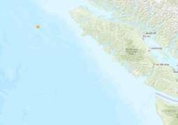Second Quake Hits Canada Off Pacific Coast, Aftershocks Rattle California - Gov't. Monitor