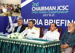 Pakistan Navy To Host2Nd Chairman Joint Chiefs Of Staff Committee Open Tennis Championship 2019