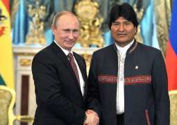 Russian President Vladimir Putin and Bolivian President Evo Morales will meet in Moscow