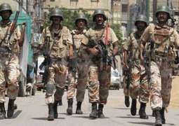 Rangers recover huge cache of weapons from Lyari gang war during operation