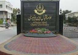 Allama Iqbal Open University (AIOU) to accept web-based results for coming admissions