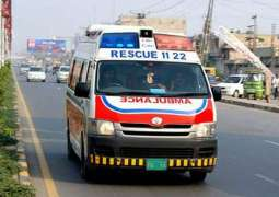 Two killed, several injured in different road mishaps in Faisalabad