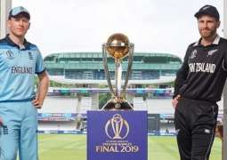 All eyes on World Cup final as England to face New Zealand today