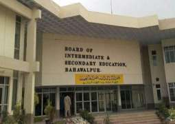 BISE Bahawalpur announces Matric, class 9th and 10th result