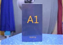 An alleged retaill box of the rumoured realme A1 has surfaced online