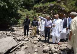 Rehabilitation of Neelum flood victims top priority: Masood Khan
