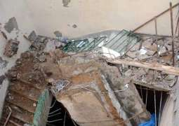 Eight killed, 30 injured in roof collapse in Orkzai