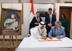 Mary Magdalene in Ecstasy presented as loan in perpetuity to the Emirate of Abu Dhabi