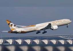 Etihad Airways flies 5 million passengers to and from China