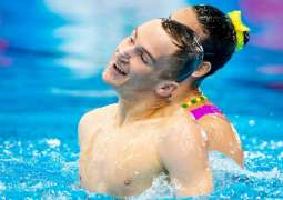 Russian Synchronized Swimmers Win Mix Duet Free Gold at World Aquatics Championships