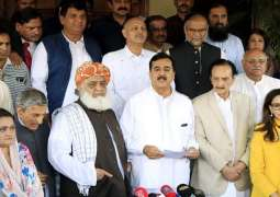 Opposition parties regret to participate in JULY 25  Million March BY JUI-F