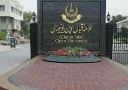 Allama Iqbal Open University (AIOU) launches ten skill-based programs