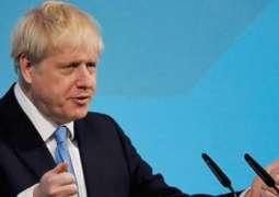 Incoming UK Prime Minister Boris Johnson