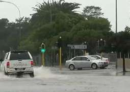 Mopping up operations continue in Cape Town after heavy downpours