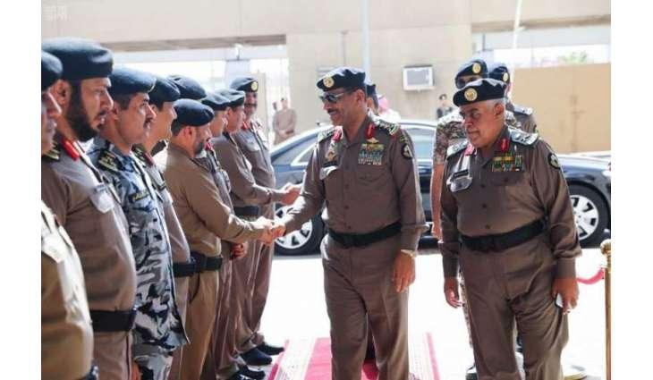 مدير الأمن العام يدشّن مكتب علاقات الجمهور بمديرية شرطة ...