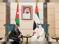Mohamed bin Zayed receives King of Jordan