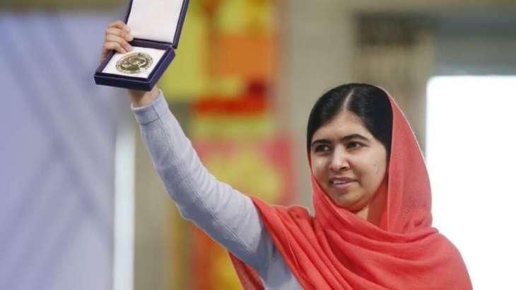 Nobel peace laureate Malala Yousafzai calls on President of France