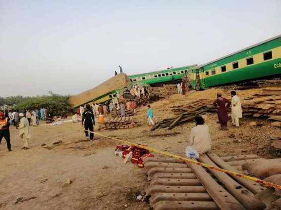 Twitterati demands Sh Raheed's resignation following train accident