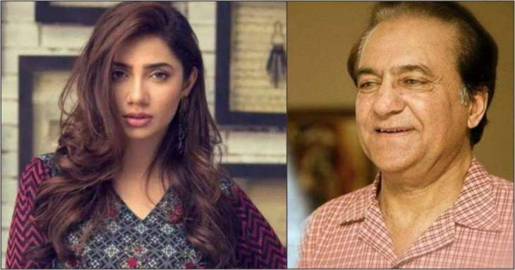 Veteran actor Firdous Jamal comes under fire for ageist comments against Mahira Khan
