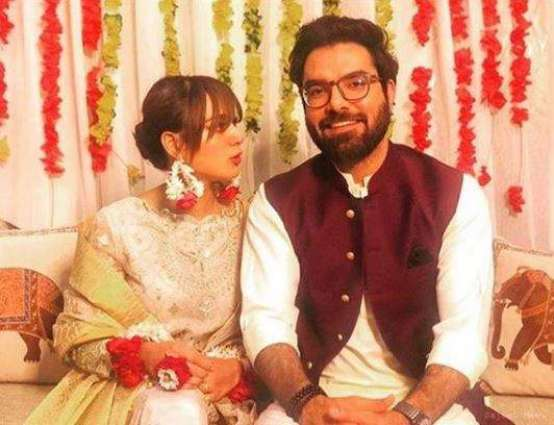 Iqra Aziz, Yasir Hussain are officially engaged!