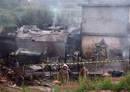 Aircraft crash ,Rescue 1122 efforts saved village from big disaster in Rawalpindi: Dr Rahman