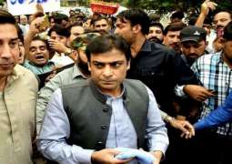 Hamza Shahbaz's physical remand extended for seven days in two corruption cases