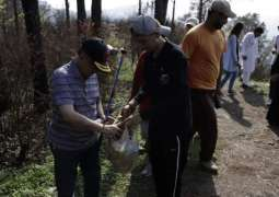 Clean & Green Pakistan Campaign: Air University spreads 4,000 seed balls at Margalla Hills