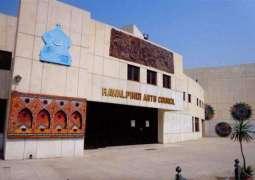 Art exhibition at Rawalpindi Arts Council