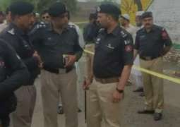 9 including three police personnel injured in bomb explosion
