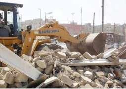 Operation against encroachments in Rawalpindi launched