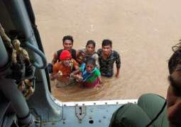 Rescue and relief efforts beefed up in 4 Indian states