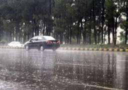 Met office forecasts rain in different parts of the country