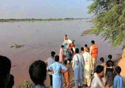 22 villages inundated as water level continues to rise in River Sutlej