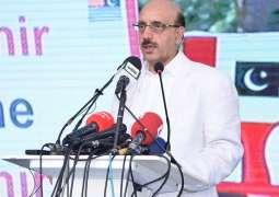 Modi Has Turned Iok Into A Gas Chamber For Kashmiris: AJK President