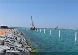 Umm Al Qaiwain Al Maidan Marina Phase 1 expansion completed