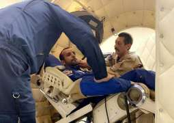 Al Mansoori's spaceflight medical completed, things he'll carry revealed