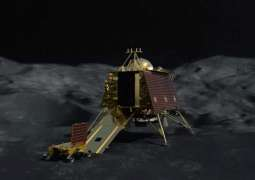 Indian Space Agency Releases Images of Moon Craters Taken by Chandrayaan-2