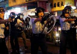 Chinese Police Conduct Anti-Riot Exercise Near Hong Kong - Reports