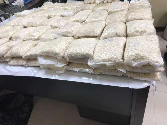Dubai Customs foils smuggling 274,000 captagon pills
