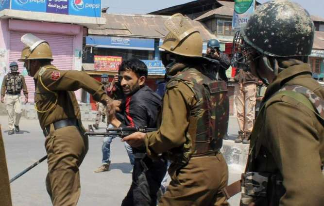 Over 500 political workers detained in IOK