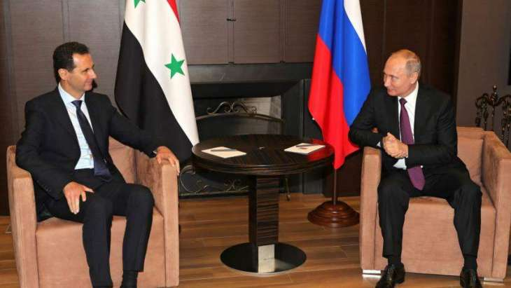 Assad Praises Improvement of Syria Situation at Talks With Russian Lawmaker - Office