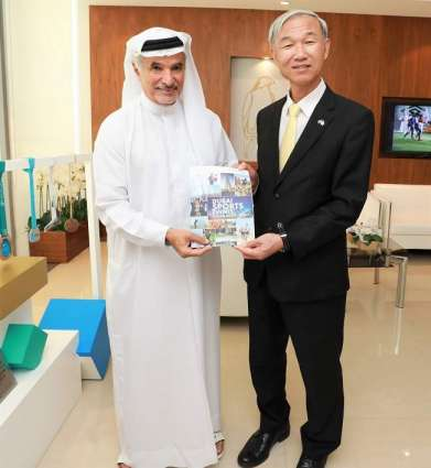 Dubai Sports Council and South Korea Consul General discuss ways to enhance cooperation in sports