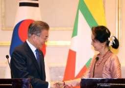 South Korea, Myanmar Sign Deal to Boost Economic Partnership - Moon