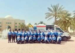 National Ambulance's Emirati EMT Programme sees record 43 UAE nationals start at University of Sharjah