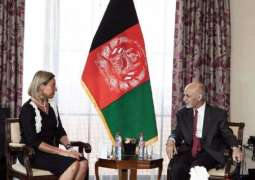 Mogherini Tells Ghani Election 'Needed More Than Ever' Amid Stalled Afghan Peace Process